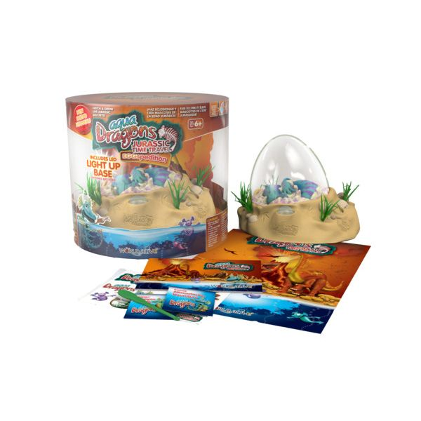Aqua Dragons Jurassic Eggspedition LED set